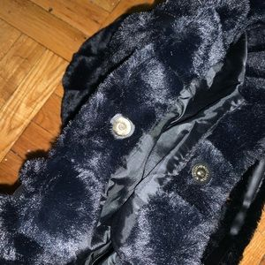 VS faux fur black bag